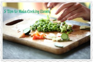 5 Tips - Cooking Graphic